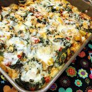 1e89558f d31d 42c8 8c8e ca0f058ddd79  creamy squash spinach and chicken polenta casserole 2
