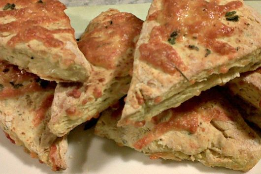 Mustard and Sage Cheese Scones