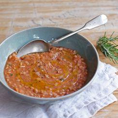 Tuscan Farro and Bean Soup (Zuppa di Farro alla Lucchese)