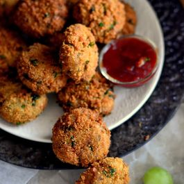 Potato Flaxseed nuggets