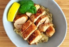 Spicy Soy Sauce Basil Chicken