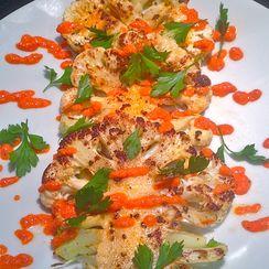 Cauliflower Al La Plancha