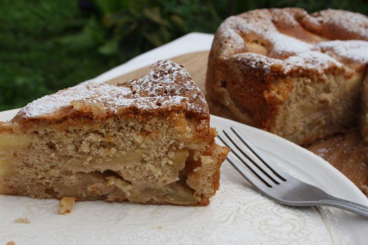 Whole Wheat Apple Sharlotka