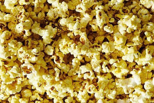 Popcorn with Curry Butter