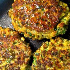 deliciously nutritious quinoa-mung bean-lentil cutlets (or patties)