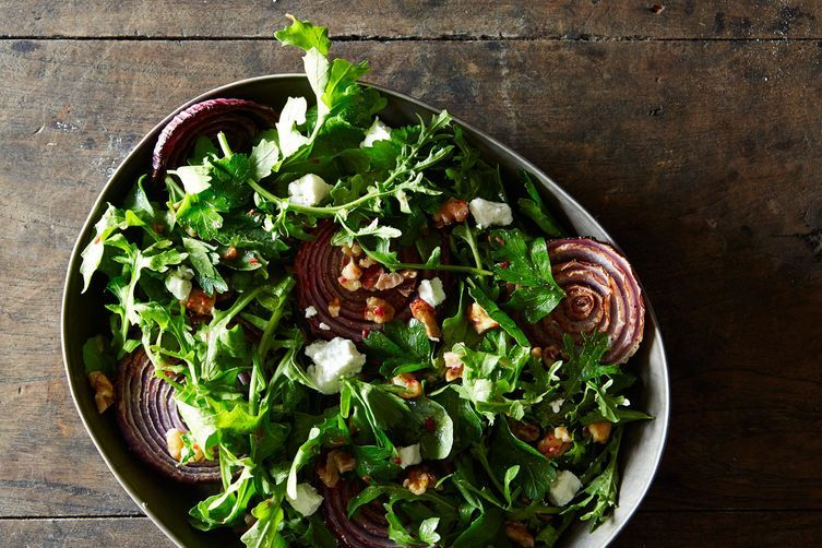 Roasted Onion Salad on Food52