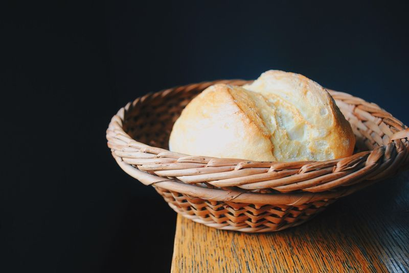 """Pan Rustico, Inspired by Salvador Dalí's """"Basket of Bread"""""""