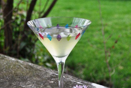 Lilac Martini