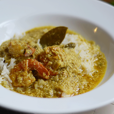 Shrimp Coconut Curry or Prawn Malai curry