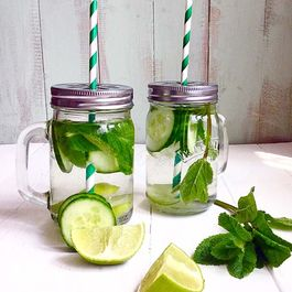 Cucumber Mint & Lime Detox Water