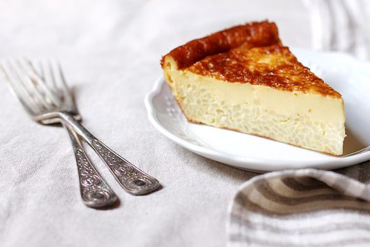 Crème Caramel Meets Rice Pudding in This Tuscan Dessert