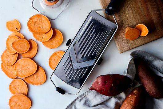 Adjustable Vegetable Slicer with Grip