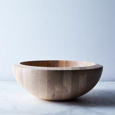Dansk Ash Wood Serving Bowl