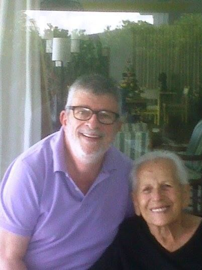 "Nick's caption on his Facebook post of the two together (the photo itself is a few years old): ""Today, September 7, was Maida Heatter's 100th birthday! She is alive and well and living in Miami Beach."""
