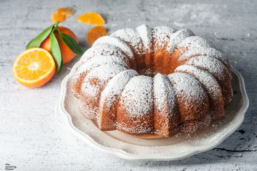 Flavorful Tangerine Cake