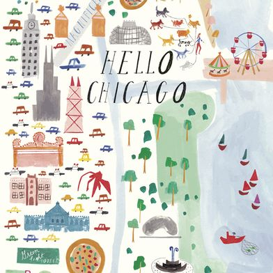 Chicago Art Print, Mr. Boddington