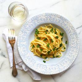 Lemon Basil Spaghetti