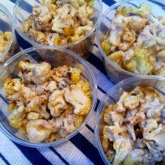 Roasted Cauliflower with Tahini and Lemon