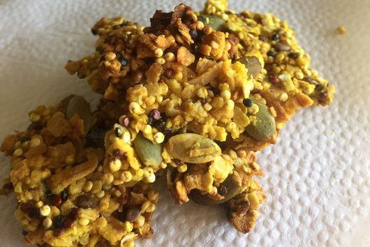 Golden Tahini Granola