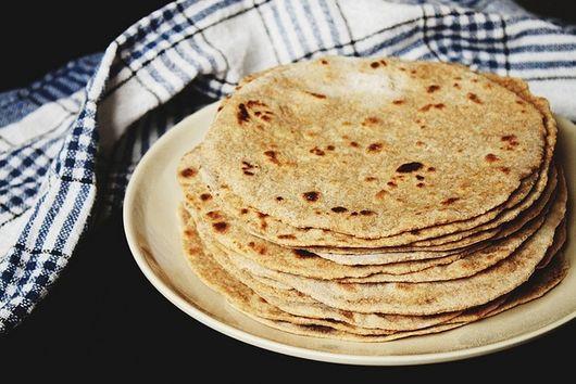 Home-Made Whole Wheat Flour Tortillas