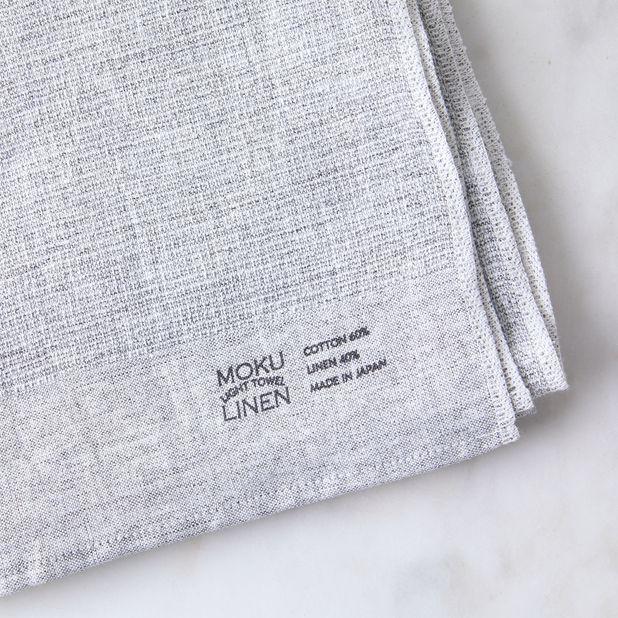 tanuki tea towel Japanese design tea towel Cotton Linen Tea Towel Linen Tea Towel