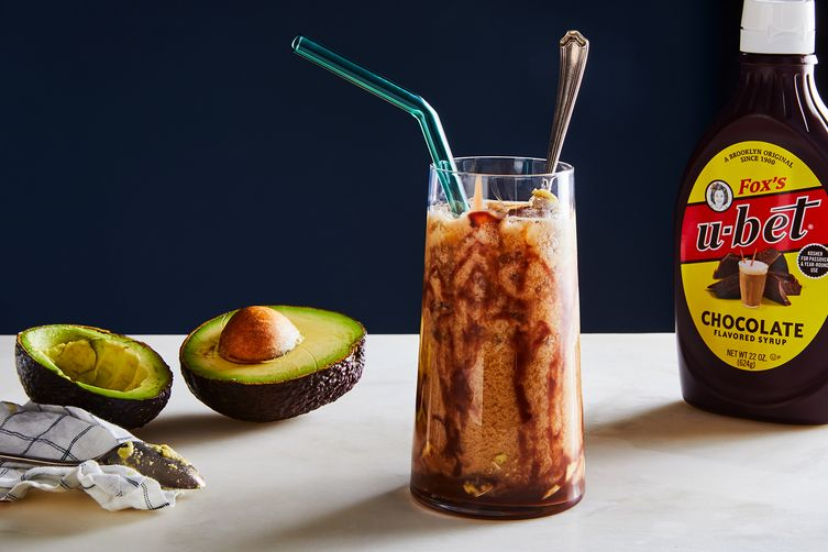 Iced Coffee with Avocado (Es Alpukat Kopi Susu)