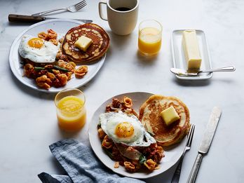 Why You Should Eat Tortellini and Pancakes for Breakfast (Seriously.)