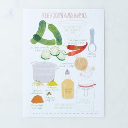 Pickling Print