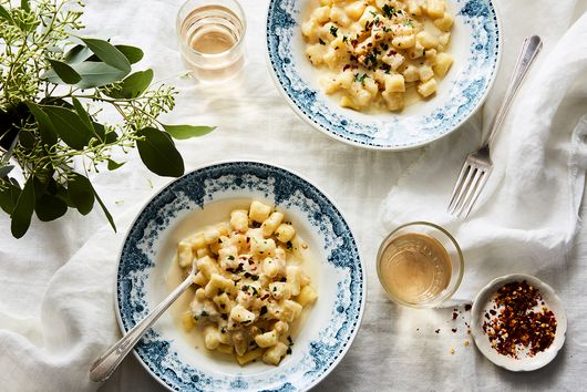Gnocchetti with Lemon and Goat Cheese