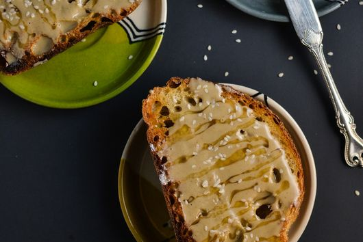 Tahini and Honey Toast