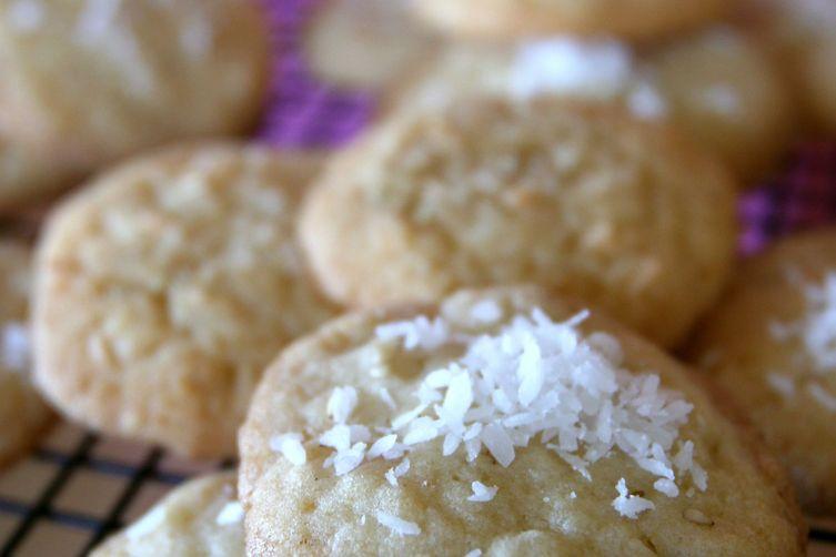 Sesame and Coconut Sugar Cookies