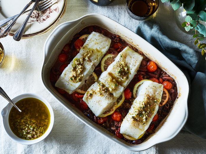 The Lemony, Capery, One-Pan Fish We Can't Stop Eating