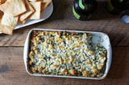 Spinach, Feta, and Artichoke Dip