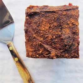 Ice Box Sweet Potato & Walnut Brownies