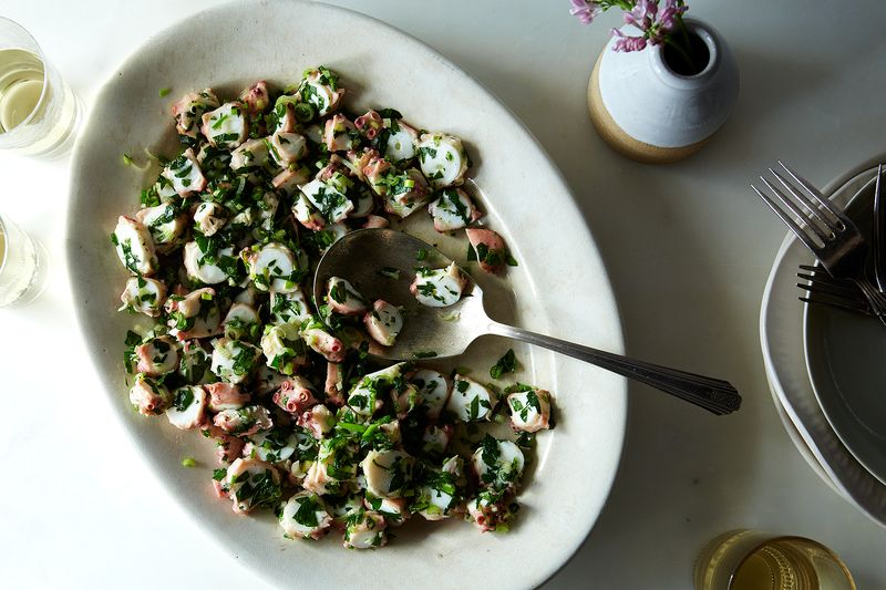 Mediterranean Octopus Salad