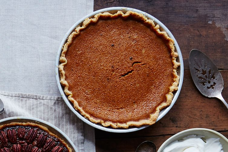 James Beard's Rich Pumpkin Pie