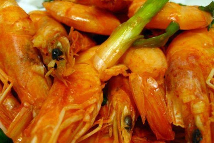Tom Rang Muoi  ...   Salt & Pepper Shrimp