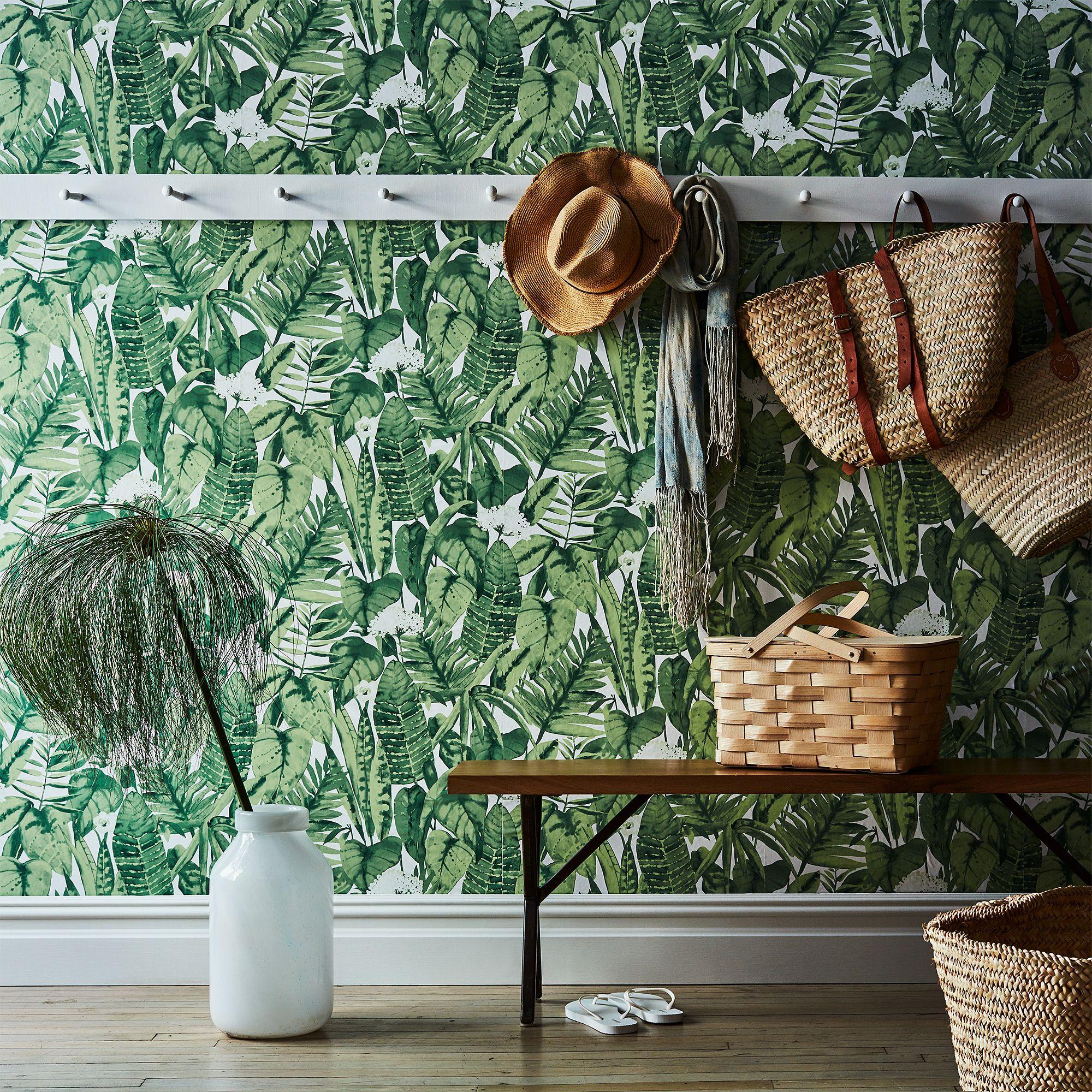 Self Adhesive Wallpaper Tropical Jungle on Food52