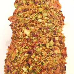 Pistachios Crusted Salmon