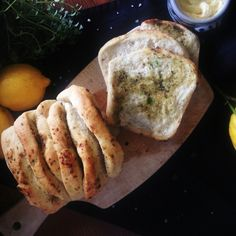Lemon & Lemon Thyme Tear-Away Bread