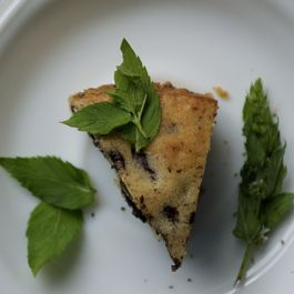 Wild Spearmint Pear Chocolate Cake