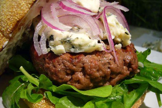 Horseradish Roquefort Burger