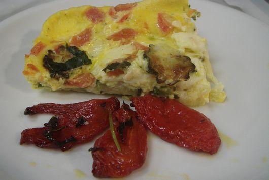 Tortino Estivo - Summer Baked Eggs
