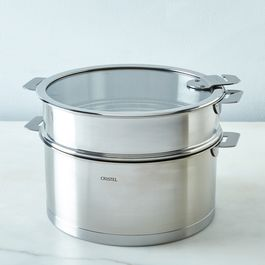 Cristel Space-Saving Stewpan with Lid, 5.5 Quart