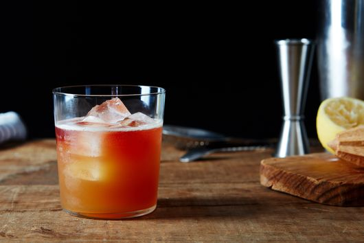 How Blue Hill Makes Punch With Leftover Whey, Tea, and Beer