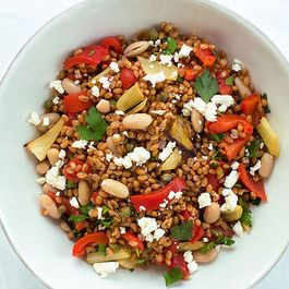 One Batch of Wheat Berries, Five Dinners