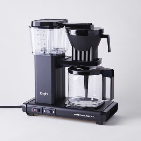 Technivorm Moccamaster 10-cup Coffee Maker with Glass Carafe