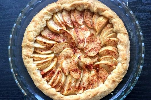 Rustic Apple Pie Tart
