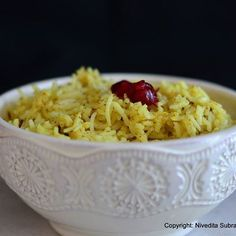 Mango Rice with Mustard