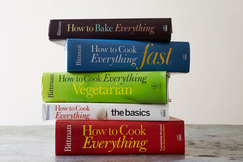 "Which to start with? Mark, who describes himself as someone who likes to cook ""whenever I'm home, or for lunch, or for dinner,"" says ""How to Cook Everything Fast"" is the closest to how he cooks for himself now."